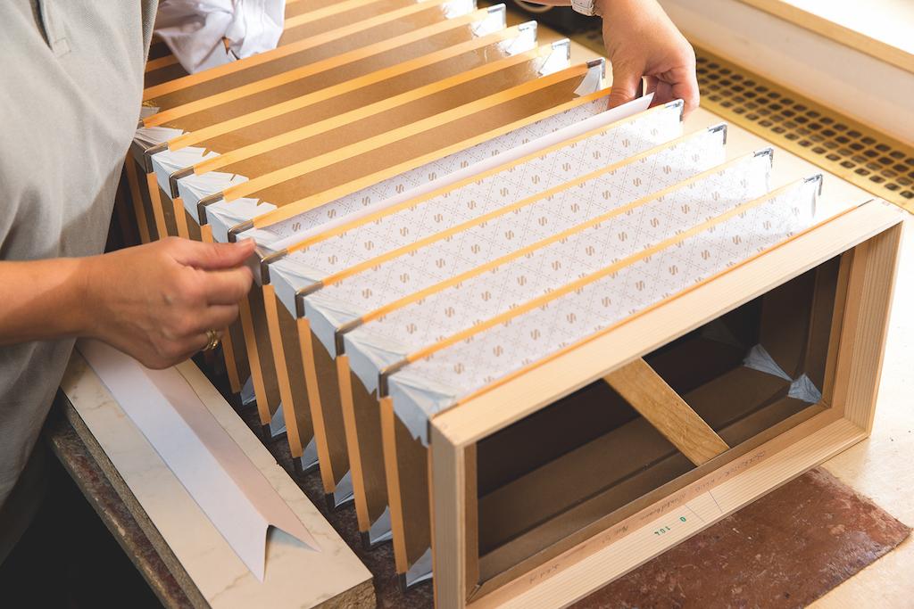 Diese steirische Harmonika erhält unser Balg-Papier