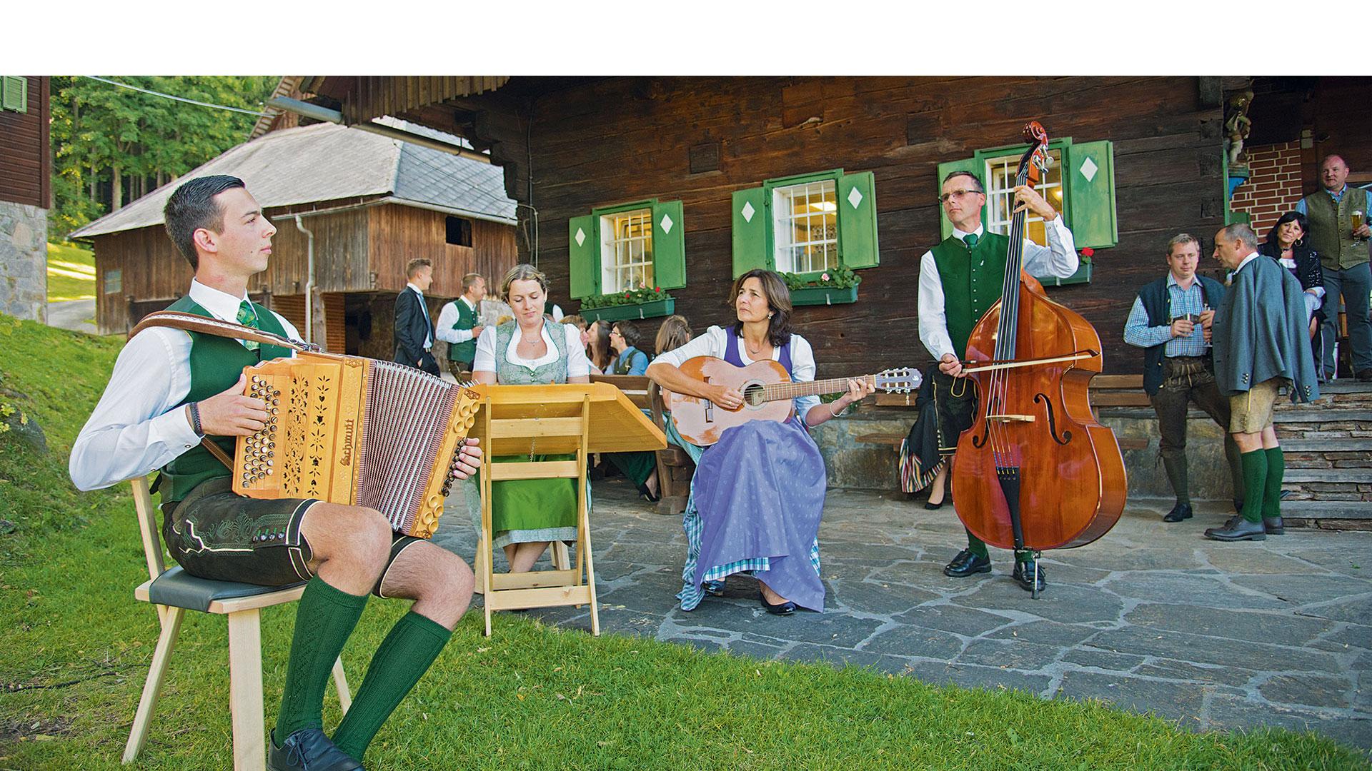 Eine steirische Harmonika von Harmonika Schmidt