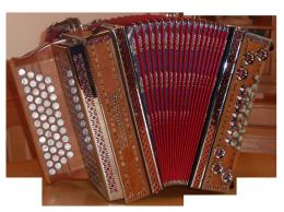 gebrauchte Heimatklang Harmonika kaufen